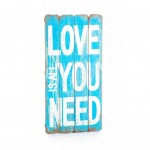 "Plakat Mazine ""All you need is love"" Aluro"
