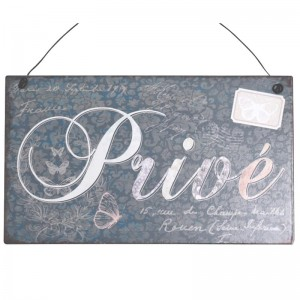 Obrazek Metalowy PRIVE Chic Antique