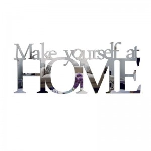 Lustro dekoracyjne MAKE YOURSELF AT HOME plexi DekoSign