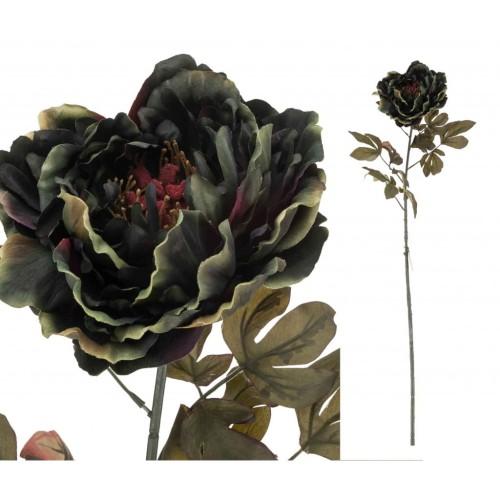 Kwiat Sztuczny Piwonia Zieleń 100cm Aluro Outlet